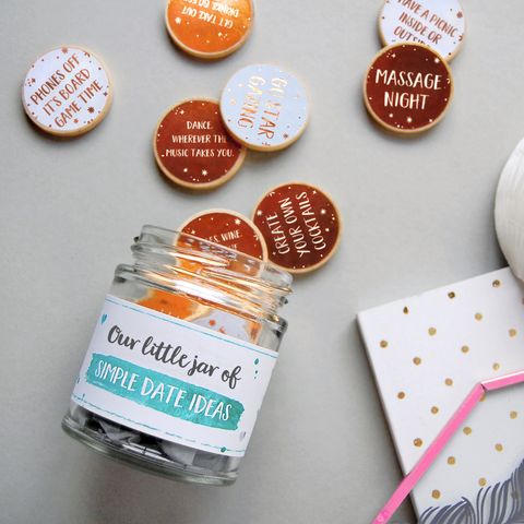 Date Night Tokens Jar