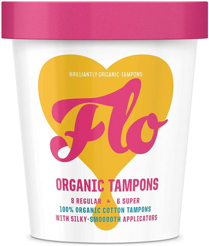 Flo Eco-Applicator Tampon Pack