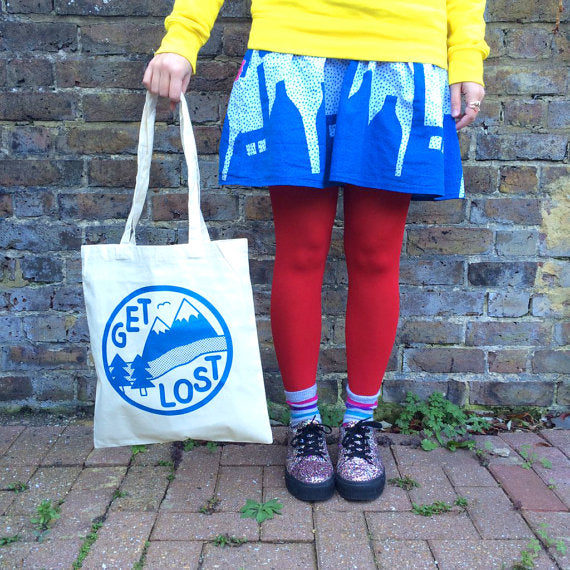 'Get Lost' Tote Bag