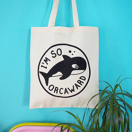 'So Orcaward' Tote Bag
