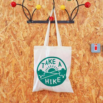 'Take A Hike' Tote Bag