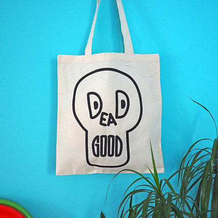 'Dead Good' Tote Bag