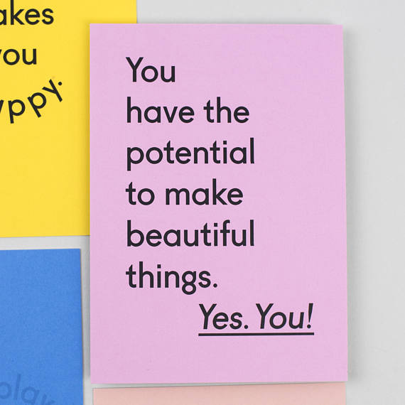 Motivational Postcard Set