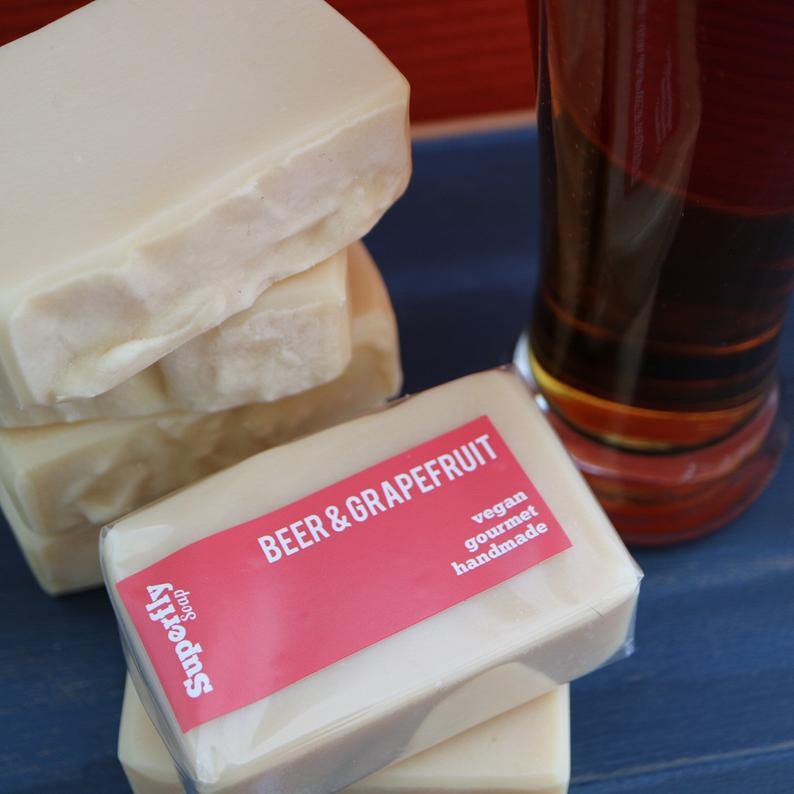Beer & Grapefruit Soap Bar