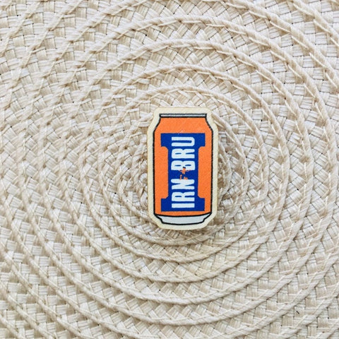 Irn Bru Badge
