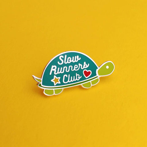 'Slow Runners Club' Pin