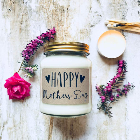 'Happy Mother's Day' Scented Soy Candle