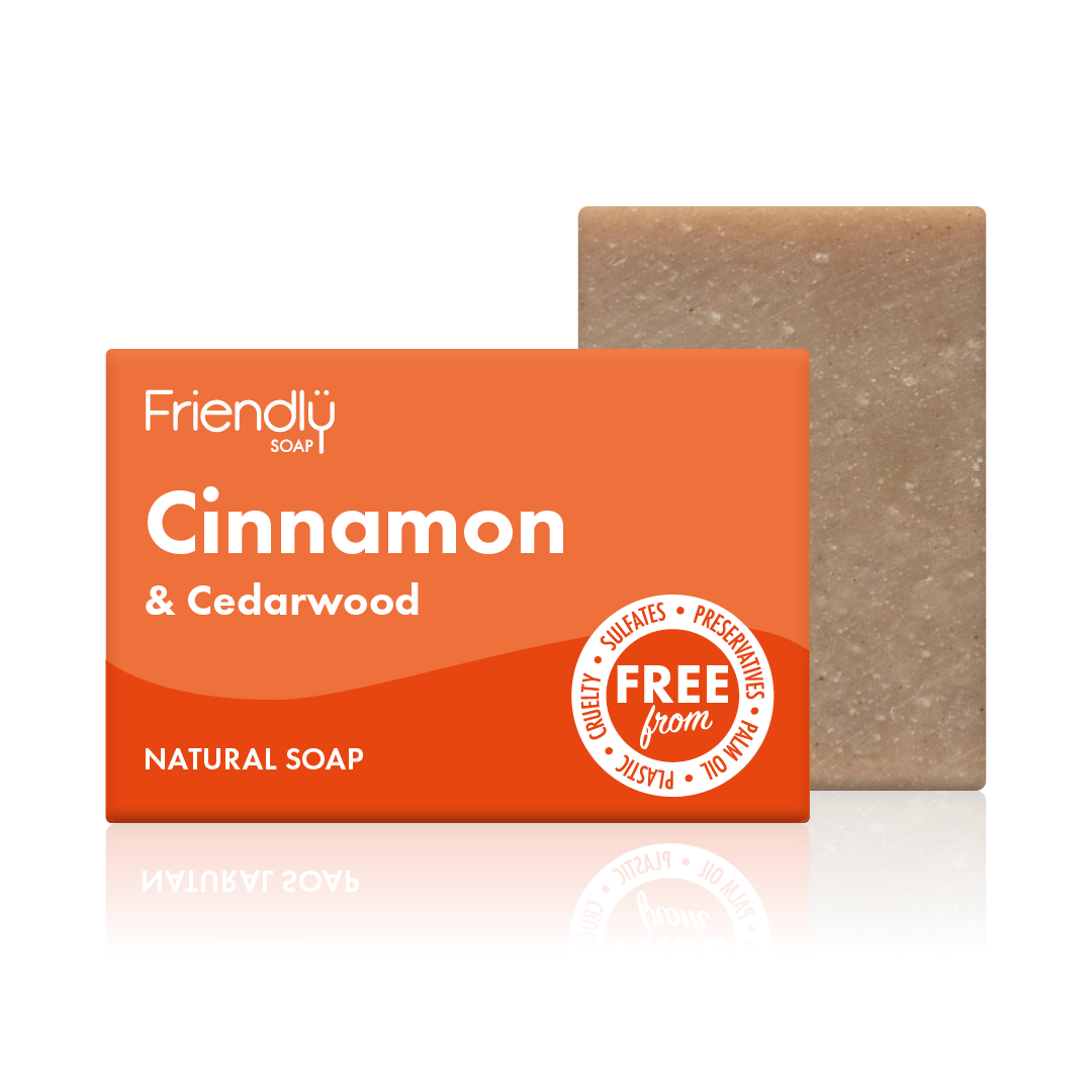 Cinnamon and Cedarwood Soap Bar