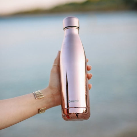 Insulated Stainless Steel Bottle - Rose Gold - 500ml