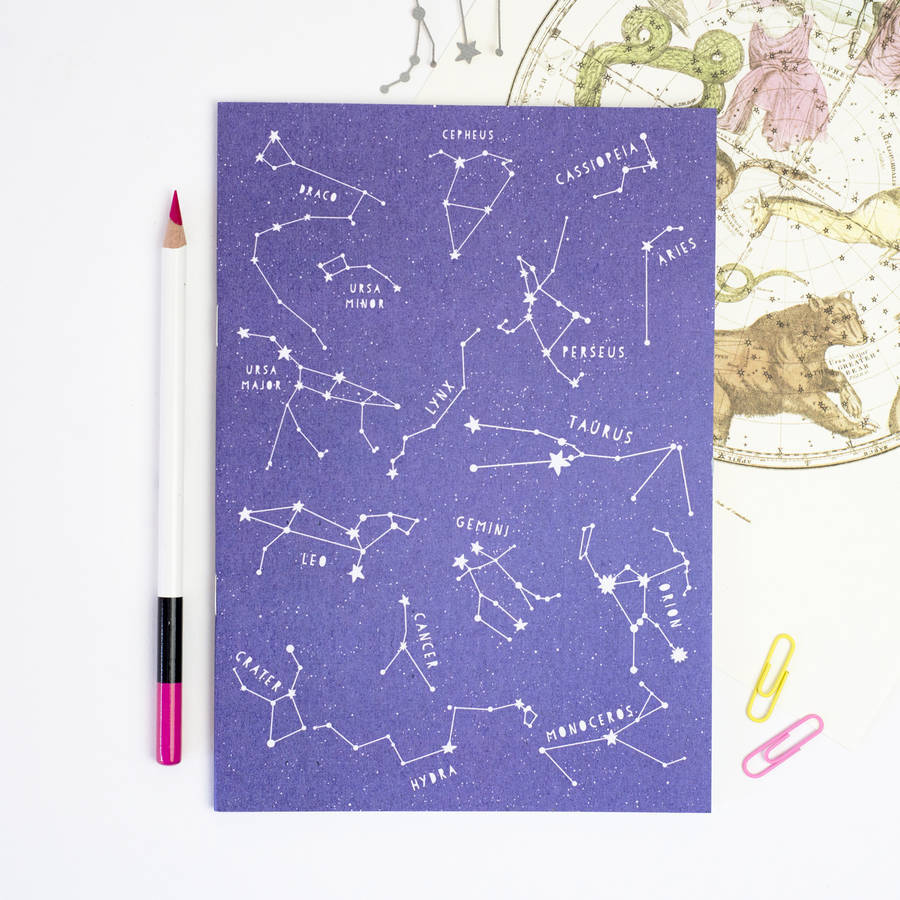 'Star Constellations' Notebook