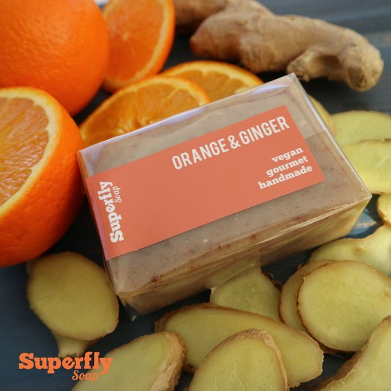 Orange & Ginger Soap Bar
