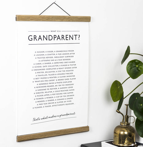 'What is a Grandparent?' Print