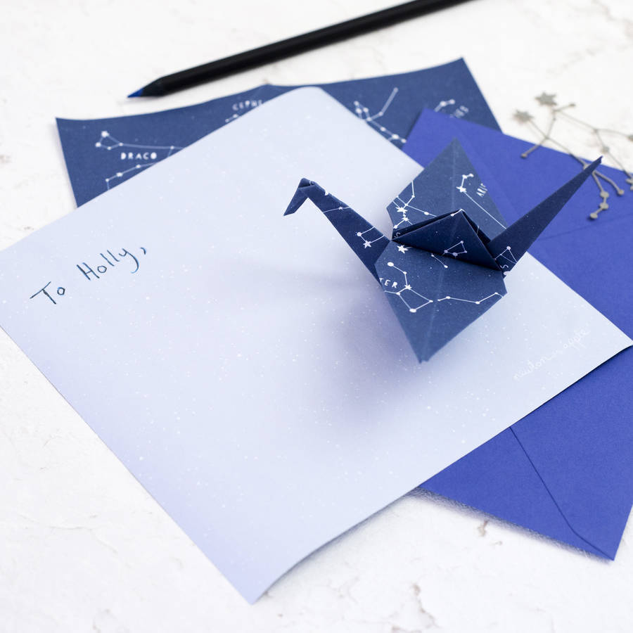 Origami 'Stariami' Writing Set