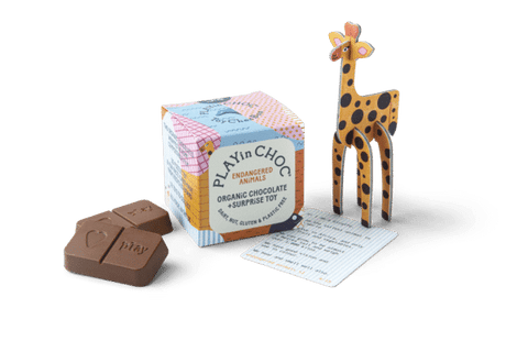 Toy Choc Box Endangered Animals