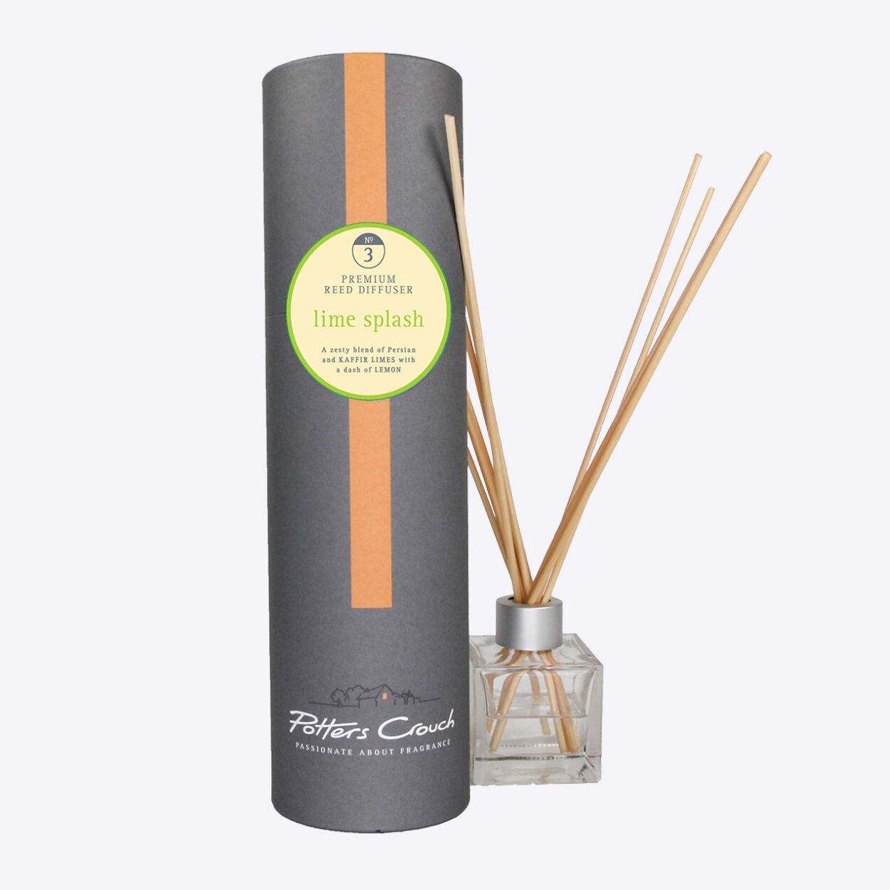 Lime Splash Scented Reed Diffuser