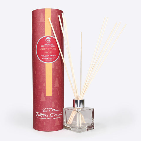 Cinnamon Swirls Scented Reed Diffuser