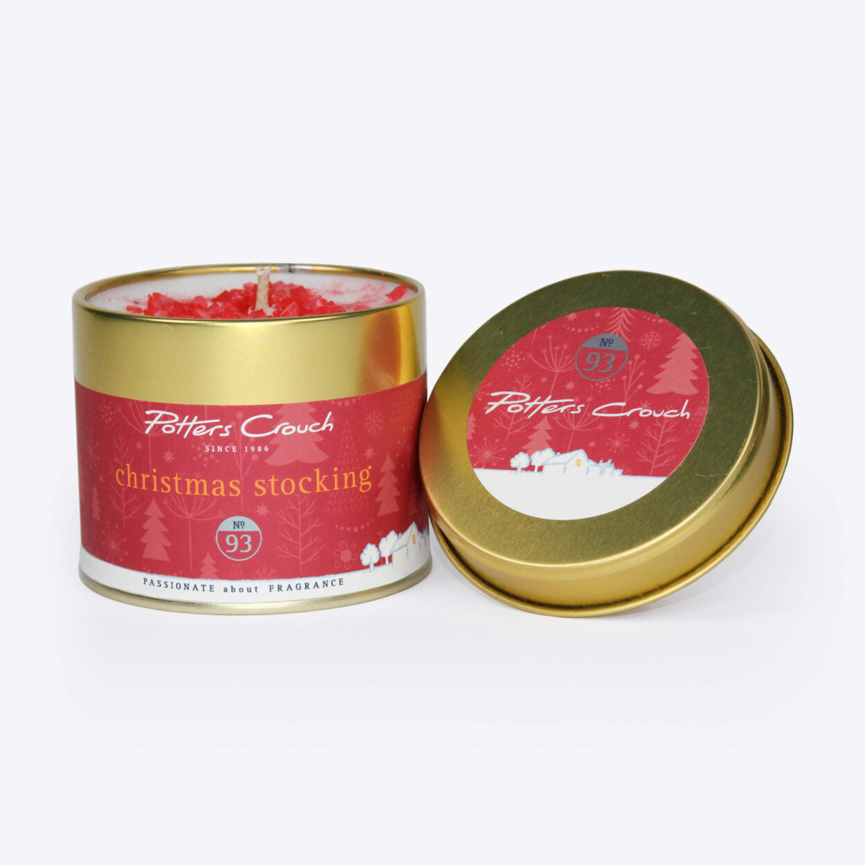 Christmas Stocking Scented Candle