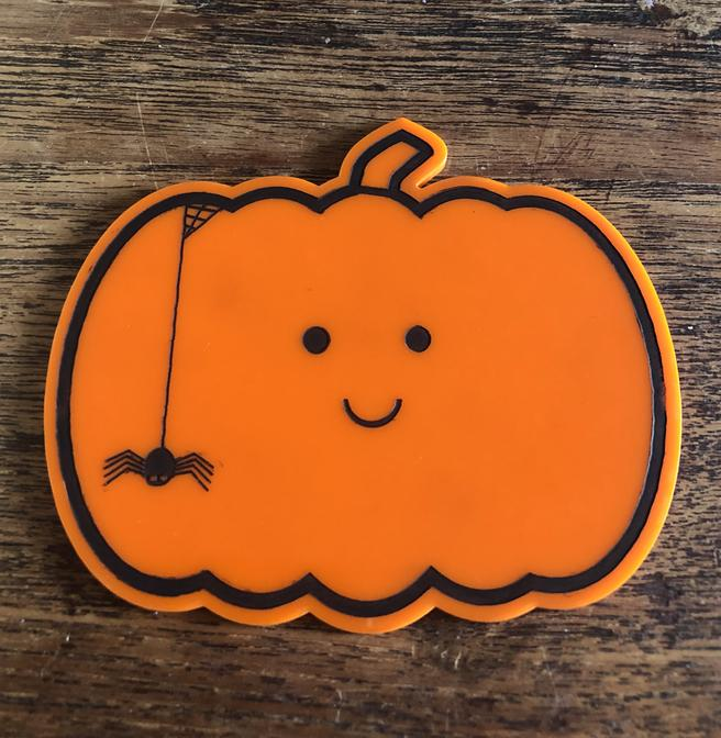 Barry The Pumpkin Coaster SOR