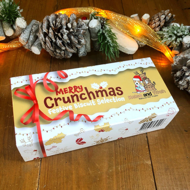 Merry Crunchmas Festive Biscuit Selection