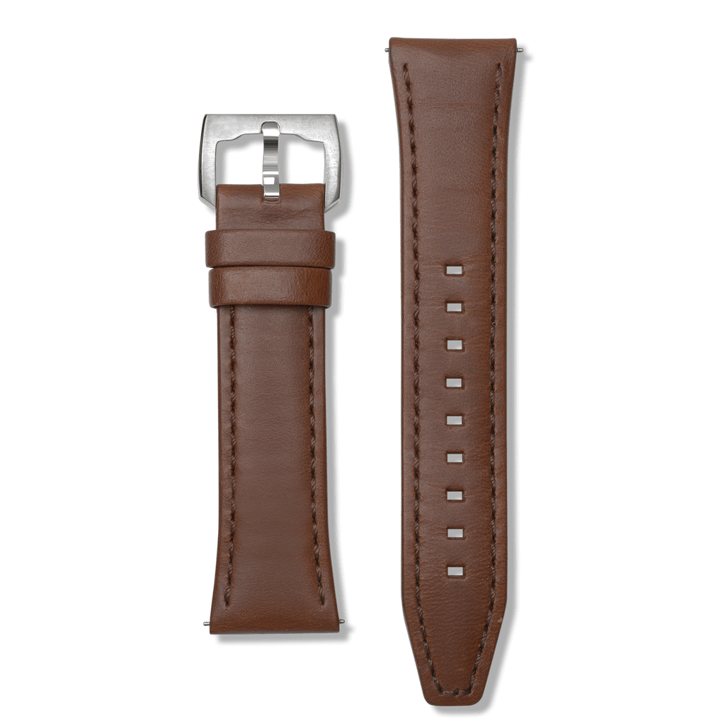 Brown Leather 24mm