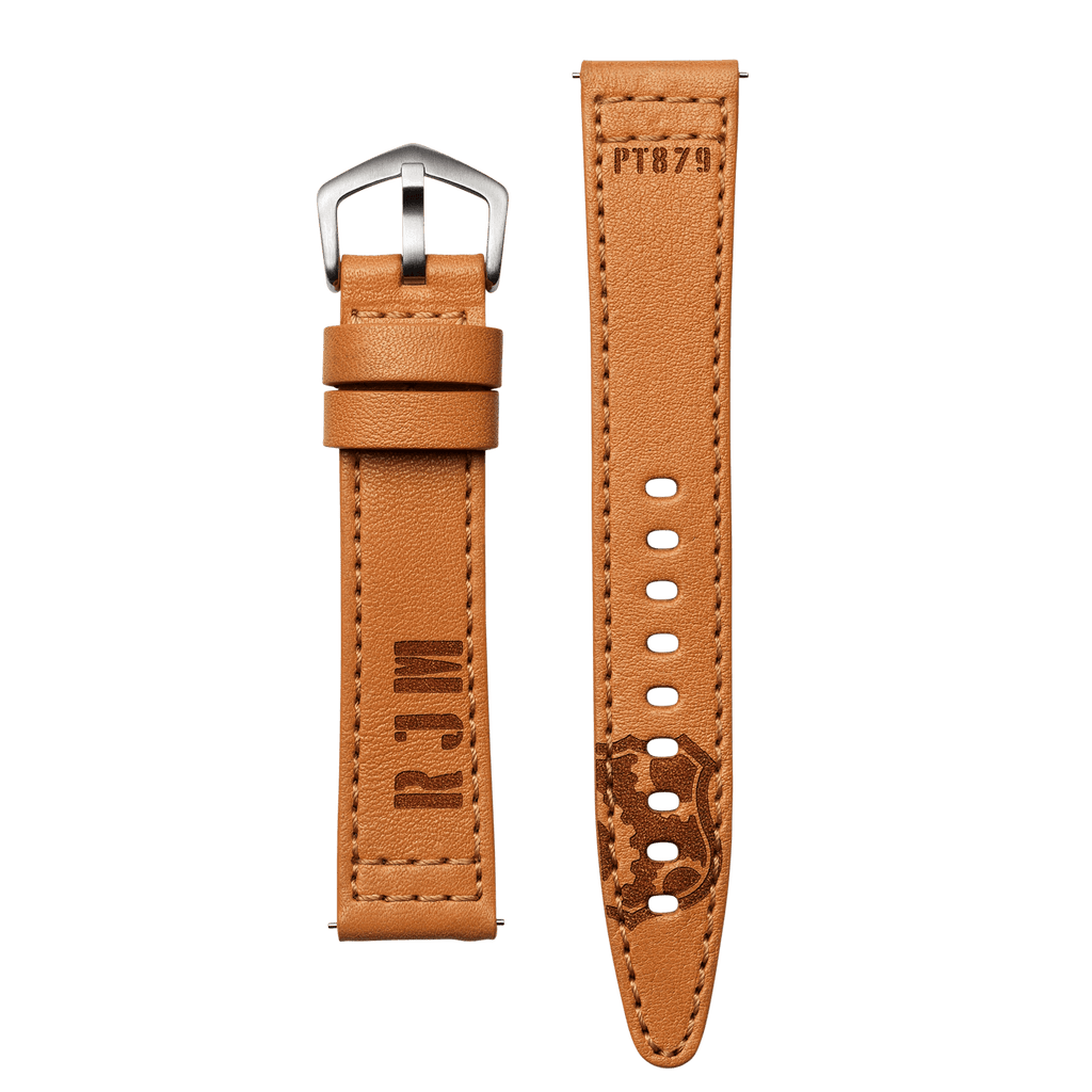 RJM Camel Brown Leather 20mm