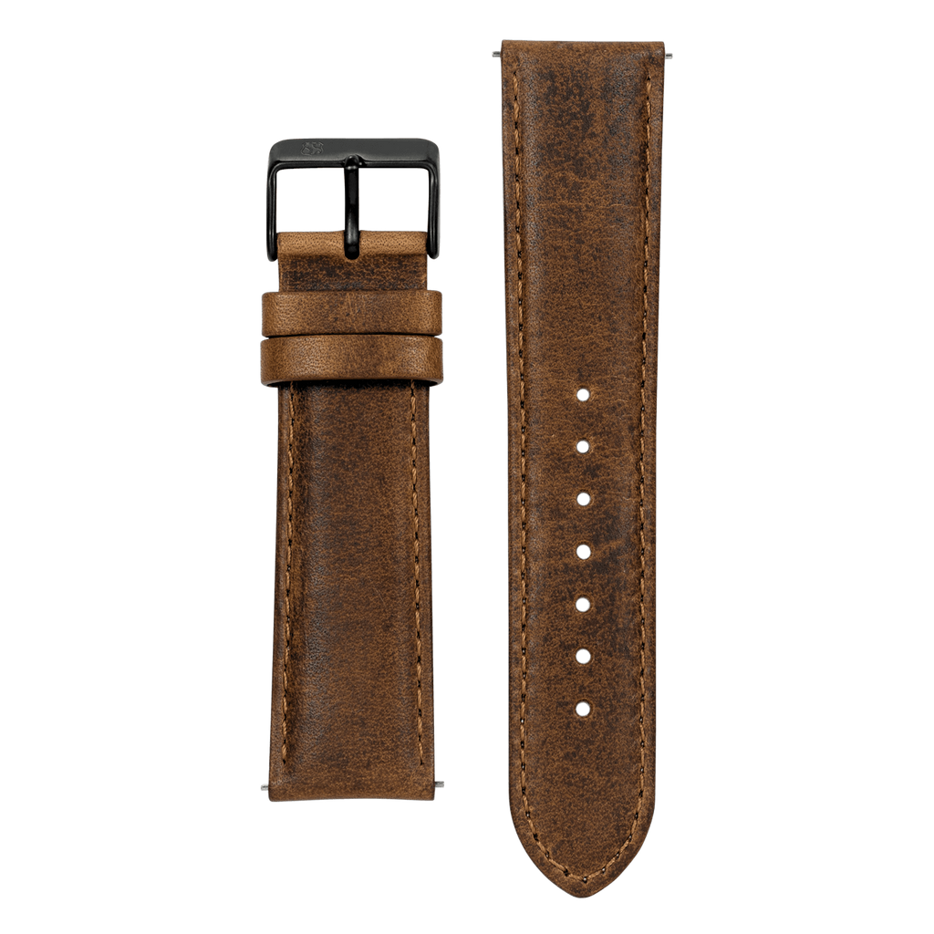 Tan Leather 22mm