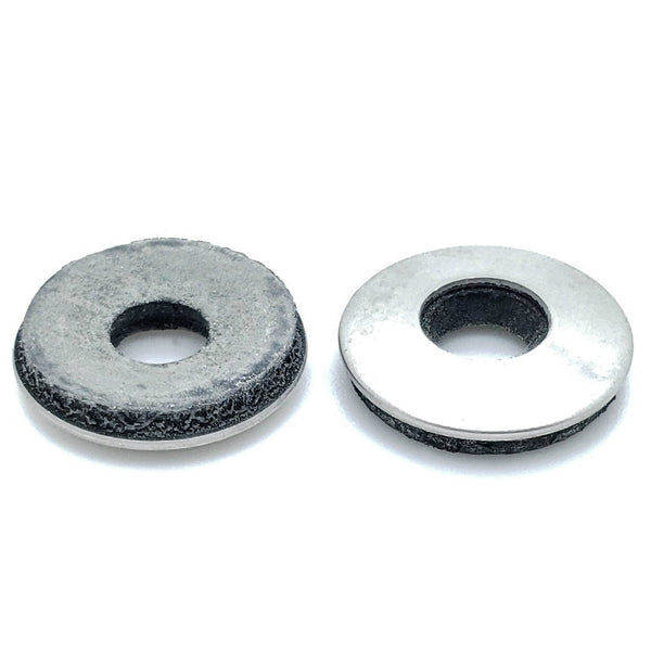 100 Qty #12 Stainless Steel EPDM Bonded Sealing Neoprene Rubber Washers  (BCP639)