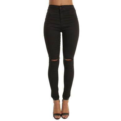 Summer Cotton High Waist Jegging