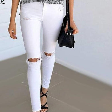 High Waist Denim Jegging