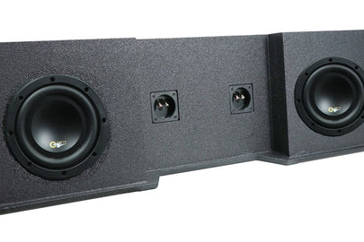 "Chevrolet / GM Extended Cab LOADED 10"" Subwoofer Box (1999-2007)"