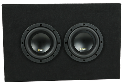 "Dual 6.5"" Loaded Subwoofer Hot Box"