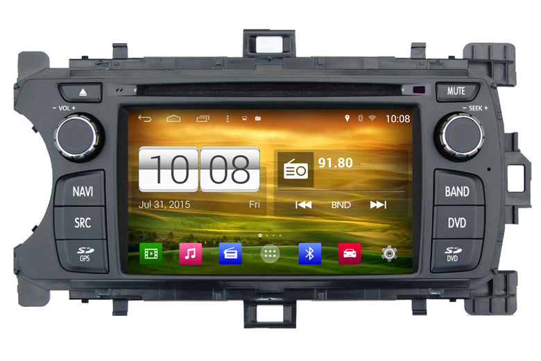 Toyota Yaris Android OS Navigation Car Stereo (2012-2013)