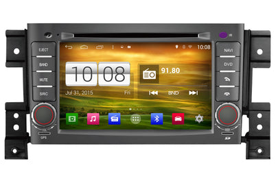 Suzuki Grand Vitara Android OS GPS Navigation Car Stereo (2005-2012)