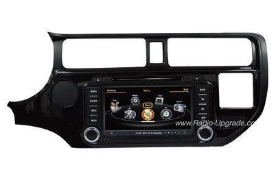 Kia Rio Aftermarket GPS Navigation DVD Car Stereo (2012-2013)