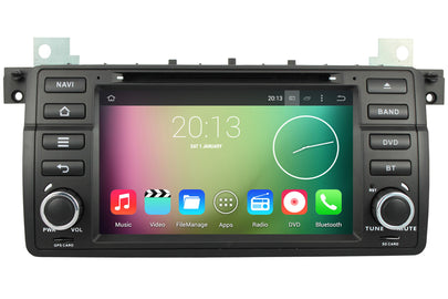 BMW 3 Series / M3 Android OS Navigation Car Stereo (1998-2005)