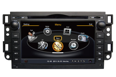 Chevrolet Captiva Aveo Double Din GPS Navigation DVD Car Stereo (2002-2011)