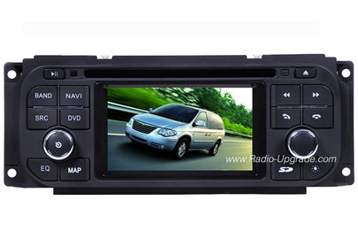 Jeep Wrangler Liberty Grand Cherokee Aftermarket Navigation Car DVD Stereo (1999-2007)