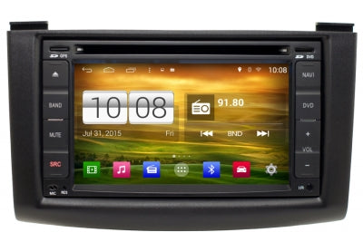 Nissan Rogue Android GPS Navigation Car Stereo (2008-2012)