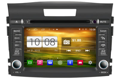 Honda CR-V Aftermarket GPS Navigation Car Stereo (2012-2016)