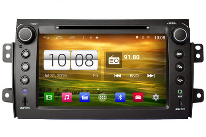 Suzuki SX4 Android OS GPS Navigation Car Stereo (2006-2013)