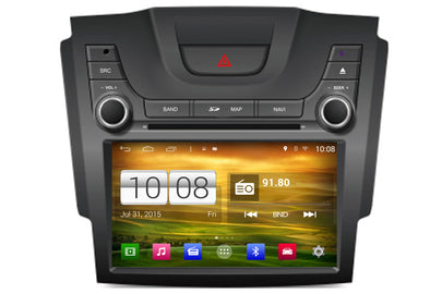 Chevrolet Colorado S10 Android OS Navigation Car Stereo