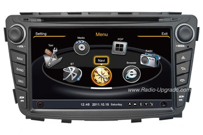Hyundai Accent Aftermarket GPS Navigation Car Stereo (2008-2012)