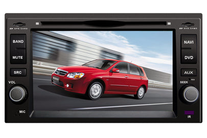 Kia Sorento Aftermarket Navigation DVD Car Stereo (2003-2009)