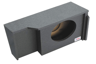 "Chevrolet / GMC Extended Cab Single 10"" SprayLined Subwoofer Box (1999-2007)"