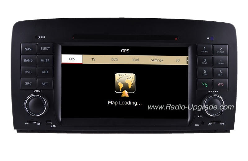 Mercedes-Benz R-W251 Aftermarket GPS Navigation Car Stereo (2006-2012)