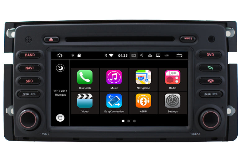Smart Fortwo Forfour Android OS GPS Navigation Car Stereo (2007-2010)