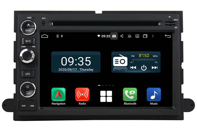 Ford F150 F250 F350 Mustang Explorer Expedition Fusion EDGE Bluetooth Navigation Car Stereo (2005-2015)
