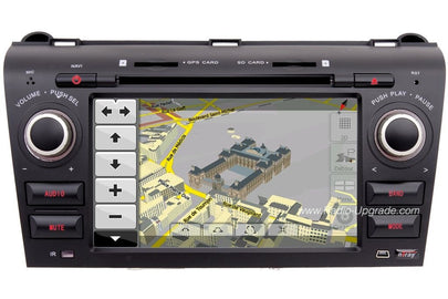 Mazda 3 Aftermarket GPS Navigation Car Stereo (2005-2009)