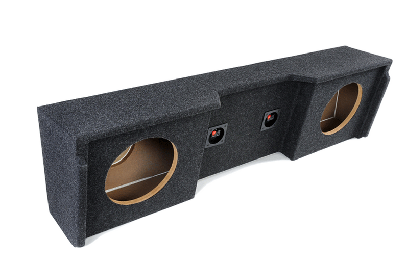 "Chevrolet / GMC Extended Cab Dual 10"" Subwoofer Box (1999-2007)"