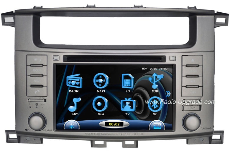 lexus lx 470 aftermarket gps navigation car stereo 2003 2007 lexus lx 470 aftermarket gps navigation dvd car stereo 2003 2007